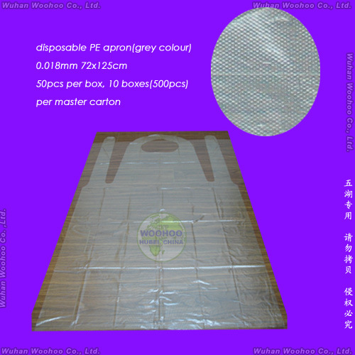 Disposable Transparent PE Apron