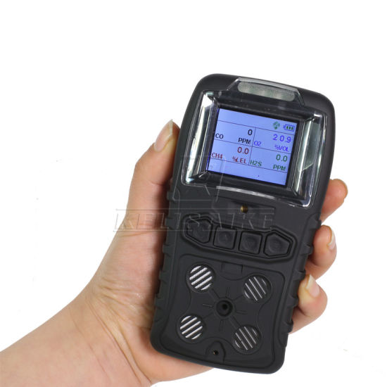 New Gas Alarm LCD 4 in 1 O2 CH4 Co H2s Gas Detector pictures & photos