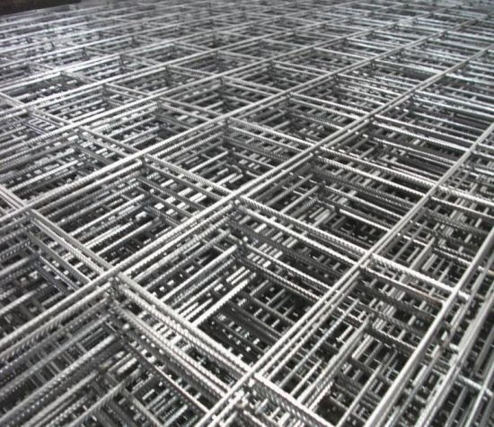 China Reinforced Concrete Steel Mesh Welded Reinforing