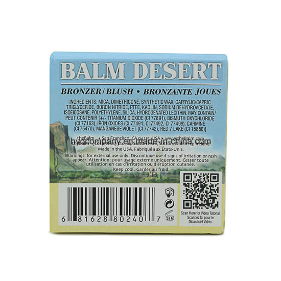 The Balm Desert Bronzante Joues Long -Wearing Bronzer Blusher for Lady pictures & photos