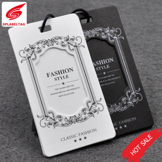 Garment Custom New Design Price Hang Tag for Garment