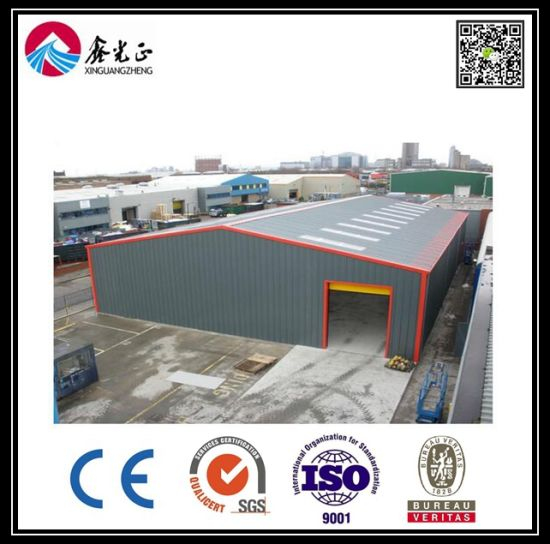 Cheap and Elegent Prefabricated Steel Frame Warehouse (BYSS050502)