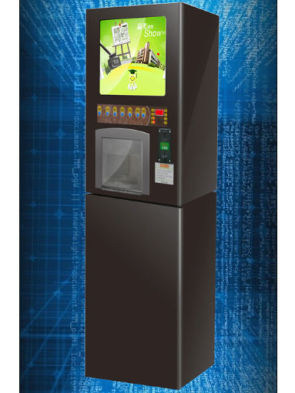 Inatant Drink Vending Machine Cold Hot F302