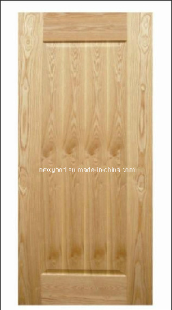 (ASH) Veneered HDF Molded Door Leaf, Composite HDF Doors