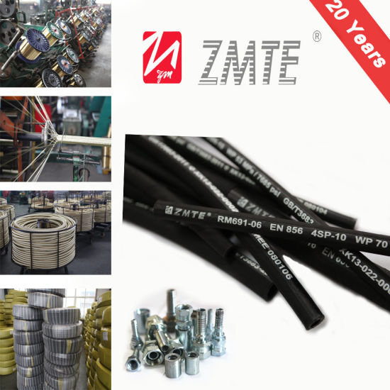 4sp Rubber Cement Hose/ Hydraulic Hose &Pipe / Flexible Hose pictures & photos