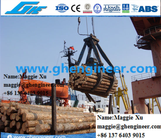 Timber Hydraulic Grab on The Truck Mounted Crane or Crawler Crane pictures & photos