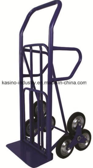 Stair Climbing Hand Trolley/Hand Truck Ht4028 with Folding Toe