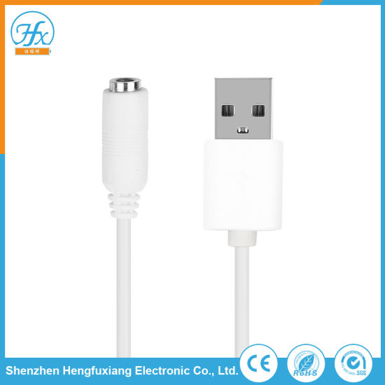 5V/1.5A White HDMI Coaxial Audio Cable for Multimedia