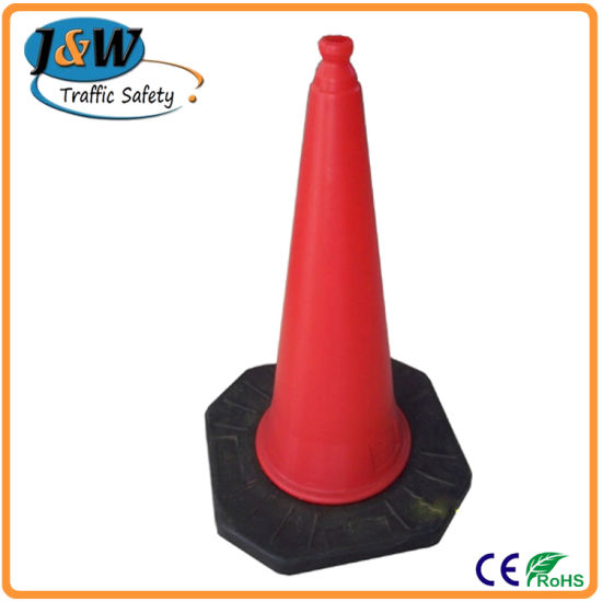 High Visible Reflective Rubber Traffic Cone pictures & photos