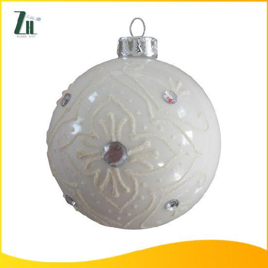 Cheap Tree Decoration Glass Ball Ornament