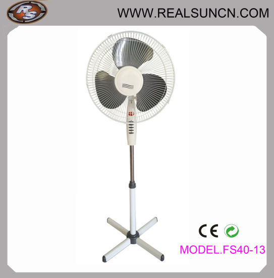 16inch Electrical Stand Fan / Electrical Pedestal Fan with Light (FS40-13)