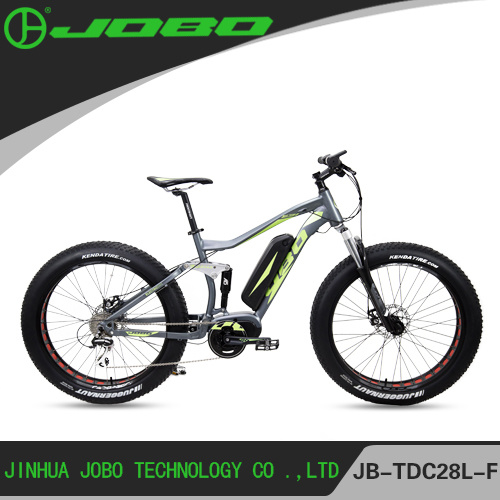 26 Inch Fat Electric Bike 4.0 Tyre with MID Drive Motor JB-TDC28L-F