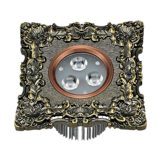 COB LED Downlight and Spotlight with Forged Brass Faceplate pictures & photos