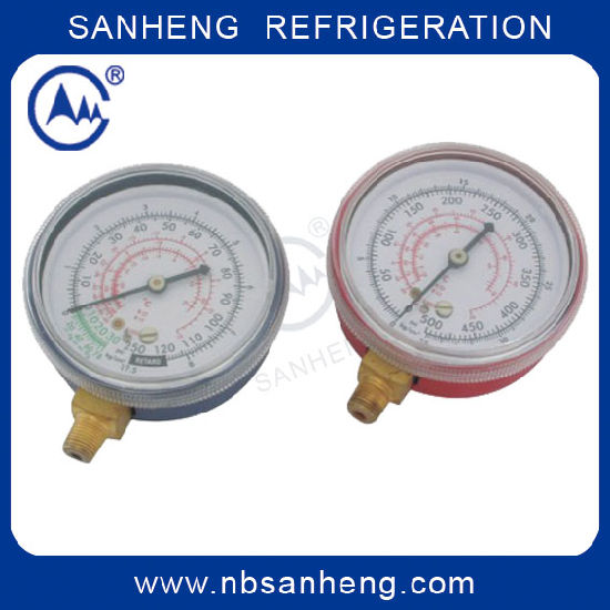 China Compound Pressure Gauge for R12 R22 R502 - China