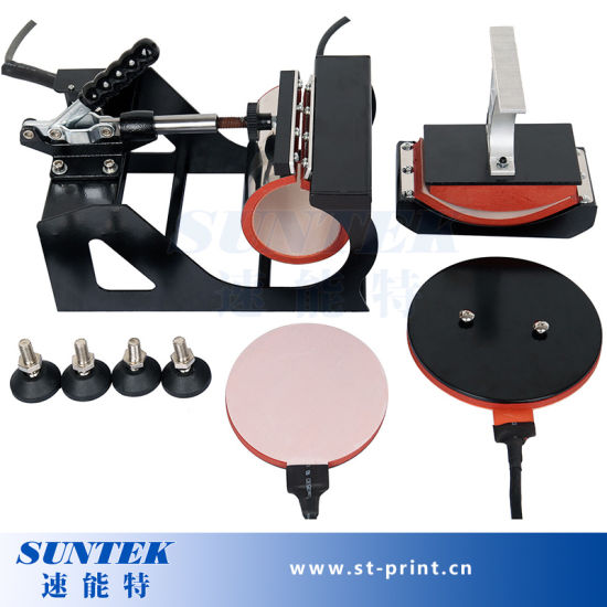 Multi-Function Swing Away Heat Transfer Printing Machine for 4 In1 pictures & photos