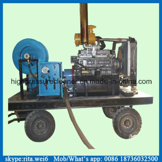 200bar Big Water Flow Sewer Cleaning Pump Triplex High Pressure Pump