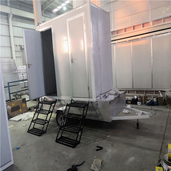 Steel Structure Mobile Toilet in Chinese Factory - China