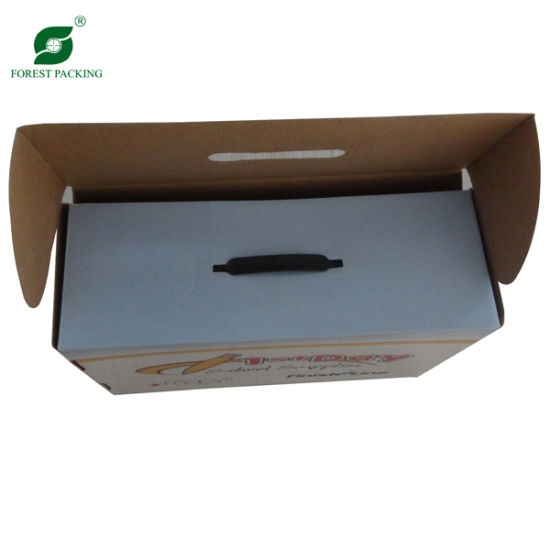 Printed New Design Corrugated Shipping Box (Fp600080) pictures & photos