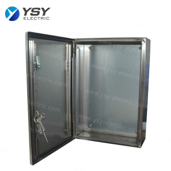 Custom Made Stainless Steel Electrical Enclosure
