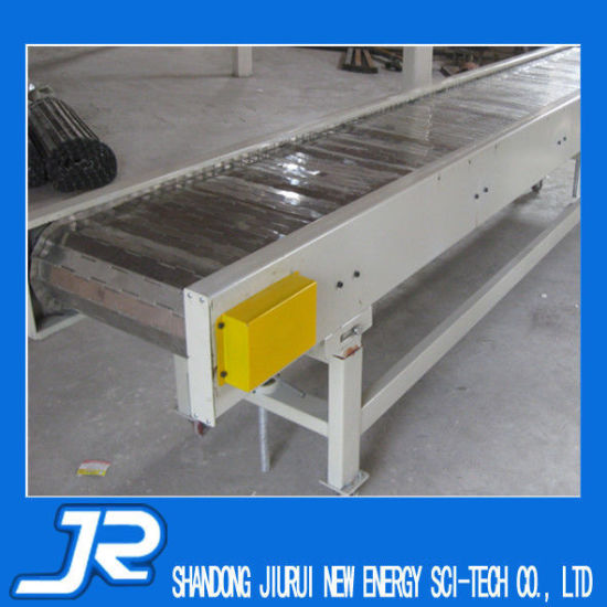 Turning Chain Plate Conveyor pictures & photos
