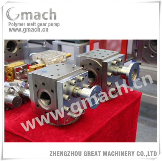 Extrusion Line Used Polymer Melt Gear Pump pictures & photos
