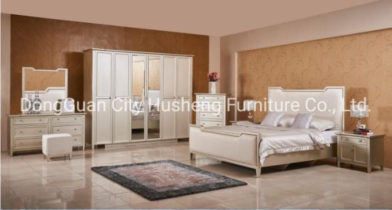Chinese Supplier Classic Design King Size Bed Bedroom Furniture China Bed Bedroom