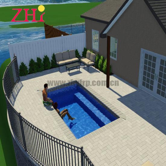 China Fiberglass 10 Meters Swimming Pool For High End Hotel China Outdoor Swimming Pool And Fiberglass Swimming Pool Price
