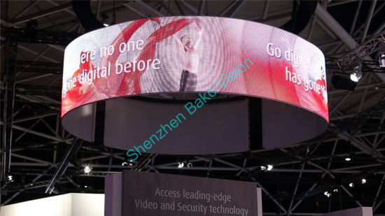 P2.5 Full Color Flexible Rubber Module Ultra Thin and Lightweight Soft Indoor LED Display for Stage