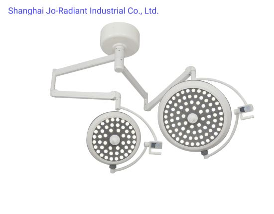Hospital Double Arms Ceiling Mounted LED Surgical Light Operating Lamp pictures & photos