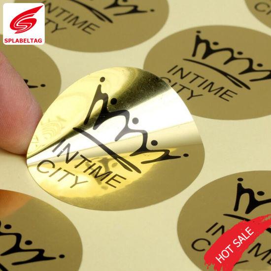 Creative Custom Printed Gold Foil Labels In Guangzhou