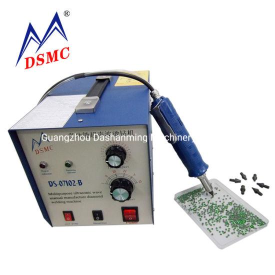 Ds 07102 Ultrasonic Hot Fix Rhinestone Machine