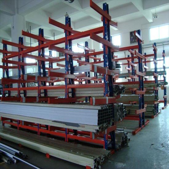 Warehouse Heavy Duty Industrial Steel Adjustable Cantilever Rack