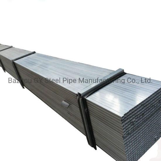 China Q195, Q215, Q235 Gi Steel Tube / ASTM A500 Grb 100 X 100 X 4 Galvanised Square Steel Pipe