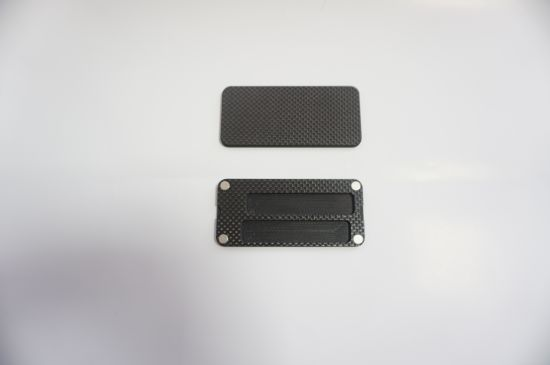 Black Flexible Plastic Products with Strong Plastic Injection Product