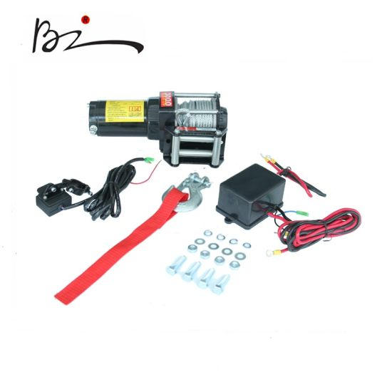 ATV Electric off-Road Winch Power Winch with Corded Remote (3000lb)