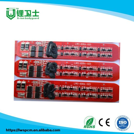 8A 9.6V PCB BMS Protection Board Circuit For LiFePO4 Battery 18650 Packs Cell 3S