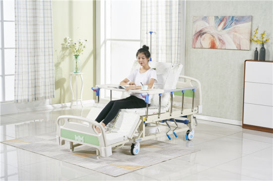 Cheap Price Manual Patient Medical Home Nursing Hospital Bed for Old People