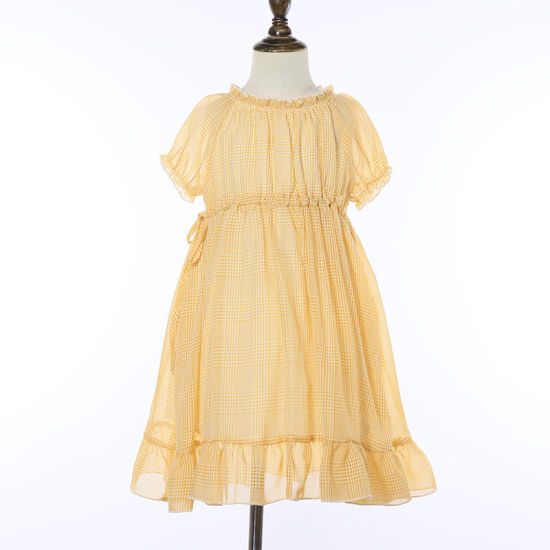 Girls Dress Fashion Girl Dresses Summer Short Sleeve Casual Dress Children Dress Girl Casual Wear Children's Clothing
