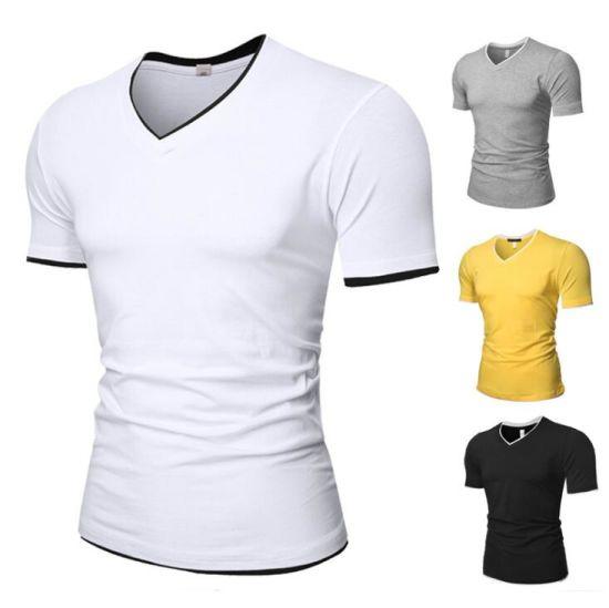 The latest Design Fashion Men's Casual V Neck T-Shirt