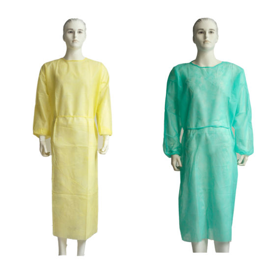Disposable Sterile SMS Nursing Isolation Gown
