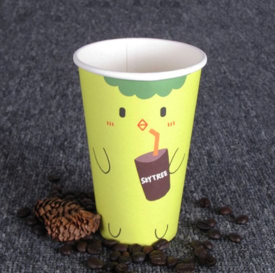Single Wall Disposable Paper Coffee Cup pictures & photos