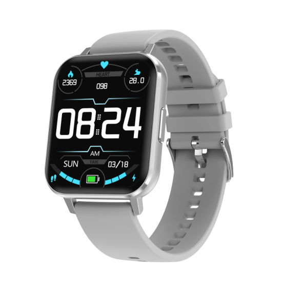 IP68 Smart Watch with Take off Sensor More Working Hours LCD