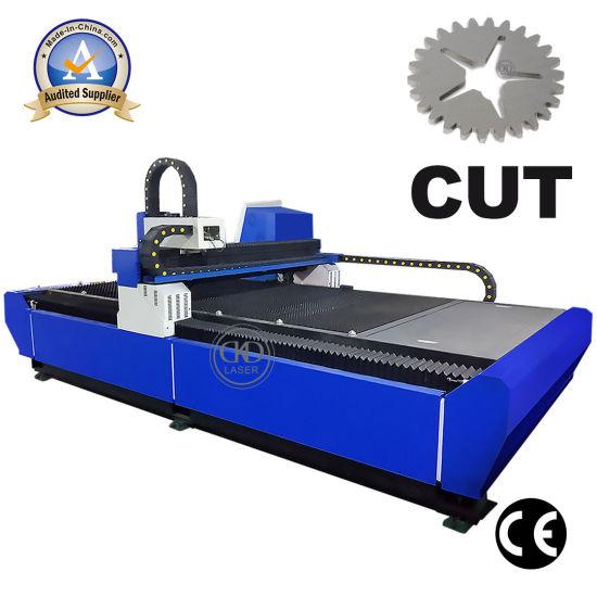 500W 1000W 3000*1500mm Scope Fiber Laser Cutting Machine for Metal