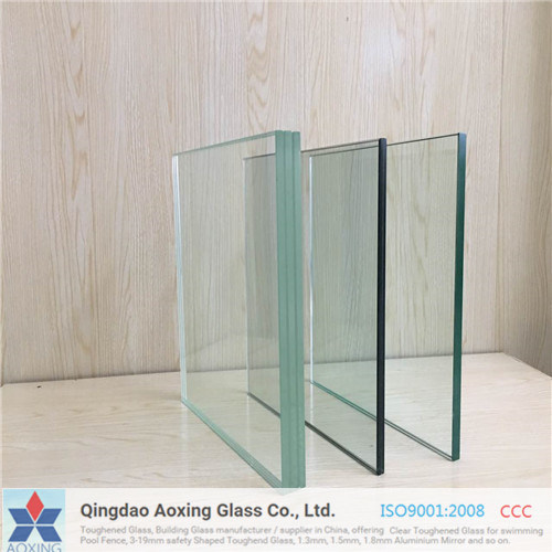 Clear / Colored / Tinted Toughened / Tempered Safety PVB Laminated Glass pictures & photos
