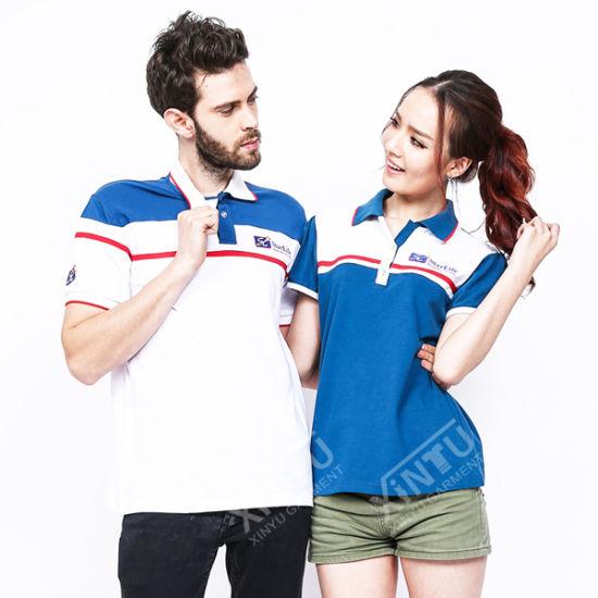 Guangzhou Manufacturer Fashion Embroidered Men and Women Polo Shirt Cheap  Sale 49a0dca75