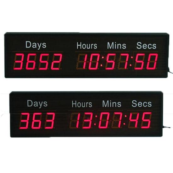 2.3 Inch 10 Digit Programmable Digital LED Countdown Timer Clock