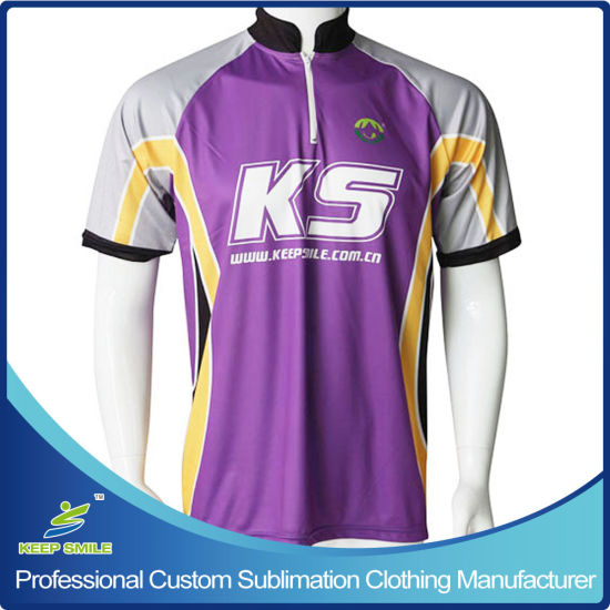 Custom Sublimation Bowling Garment for Top Jersey