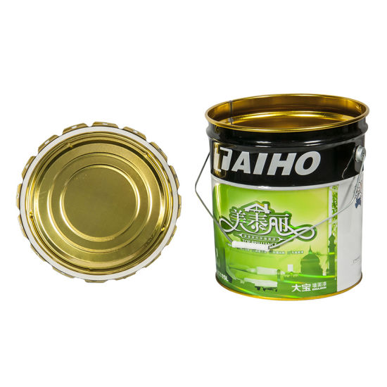 Metal Paint Primer Tin Buckets for Wood