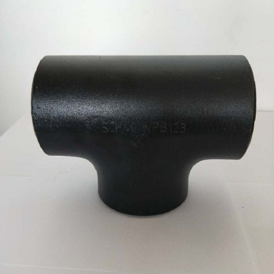 P265gh Carbon Steel/Stainless Steel Seamless Forged Pipe Fitting Tee pictures & photos