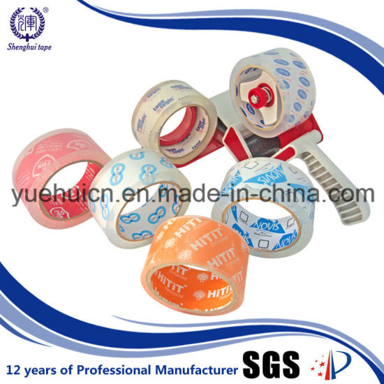 Top Quality with Good Adhesive BOPP Crystal Adhesive Tape pictures & photos